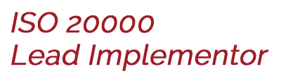 ISO 20000 Lead Implementer